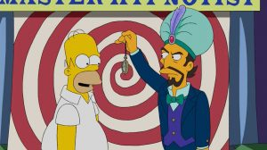 Svengali on The Simpsons, Master Hypnotist character